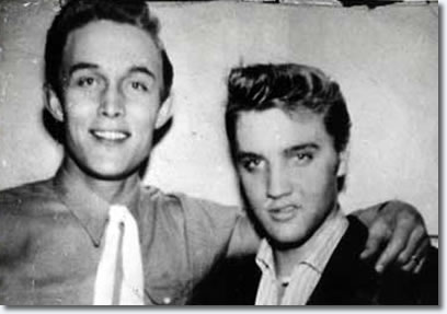 Jimmy Dean and Elvis Presley