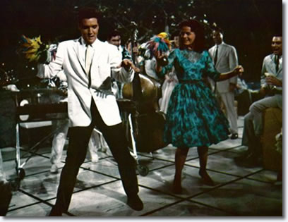 Elvis Presley and Joan Blackman in Blue Hawaii - 'Rock-A-Hula Baby