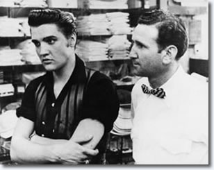 Elvis Presley and Bernard Lansky