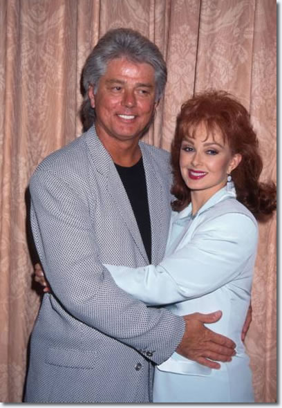Larry Strickland and Naomi Judd