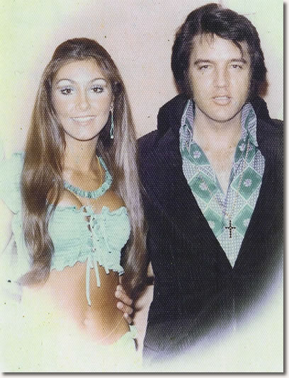 Linda Thompson and Elvis Presley