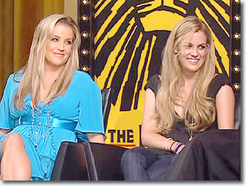 Lisa Marie Presley & Riley Keough on Oprah Winfrey Show 2007