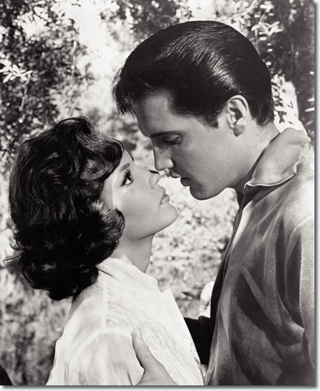 Mary Ann Mobley and Elvis Presley in Girl Happy