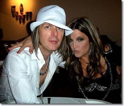 Lisa Marie Presley and husband Michael Lockwood