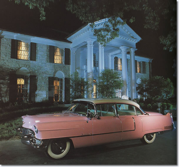 Elvis Presley's Famous Pink Cadillac : 1955 Fleetwood Series 60