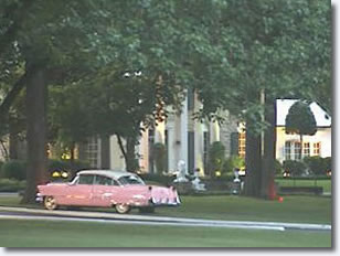 Elvis Presley's Pink Cadillac at Graceland