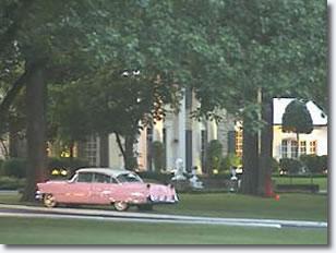 Elvis Presley's Pink Cadillac at Graceland