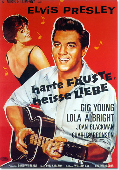 Kid Galahad - German Movie Poster