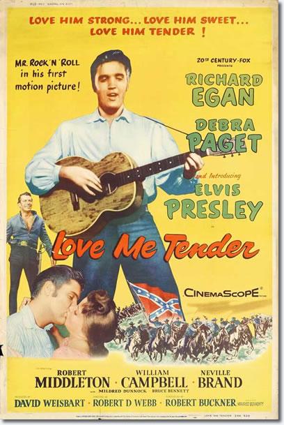 Love Me Tender - 20th Century Fox 1956