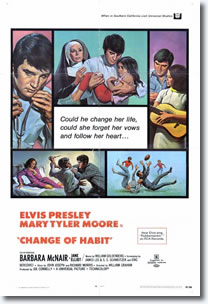 Change of Habit - Universal 1969