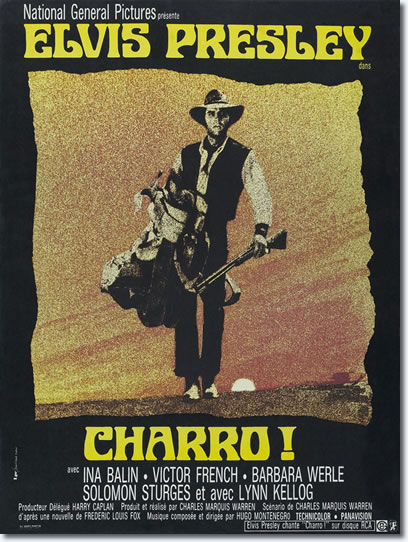 Charro! - French Movie Poster