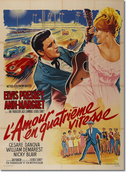 French Viva Las Vegas Movie Poster