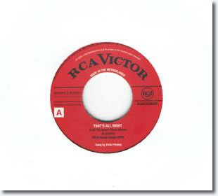 That's All Right 7 Inch 45 RPM Vinyl Single