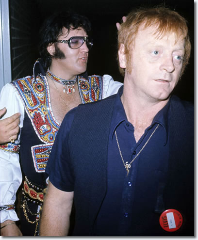 Elvis Presley and Red West