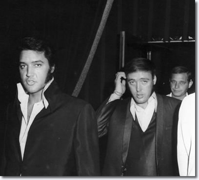 Elvis Presley and Richard Davis