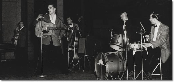 Scotty Moore, Elvis Presley, Bill Black and D.J. fontana