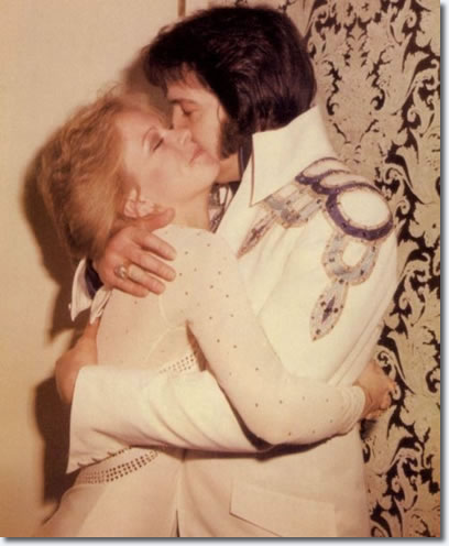 Sheila Ryan and Elvis Presley