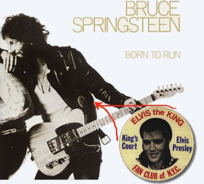 Born To Run with Bruce Springsteen wearing the King's Court badge