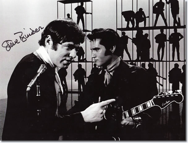 Steve Binder and Elvis Presley - 1968