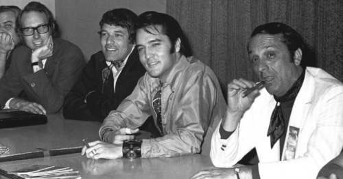 Elvis Presley: Press Conference for the '68 Comeback Special.