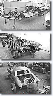 Stutz Blackhawk prototype #2 under construction