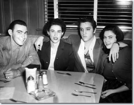 The Browns and Elvis at Pine Bluff's Trio Restaurant (1954)
