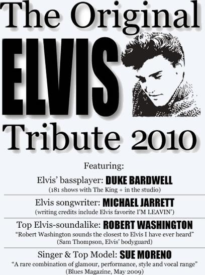 The Original Elvis Tribute Show: Europe 2010