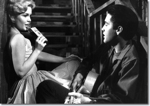 Tuesday Weld and Elvis Presley in Wild In The Country