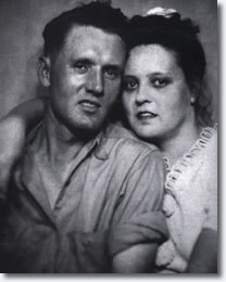 Vernon & Gladys Presley.