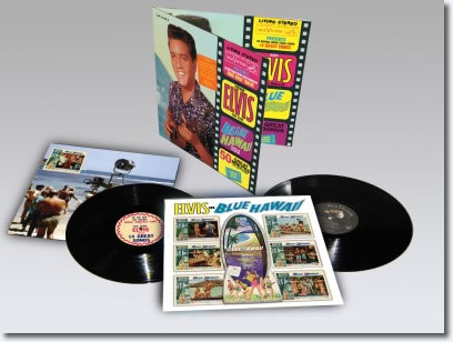 Blue Hawaii as a special Limited Edition 2-disc 180-gram vinyl