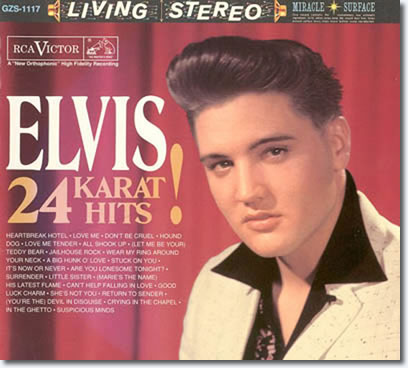 Elvis Presley 24 Karat Hits (3 LP, 180 g, 45 rpm)