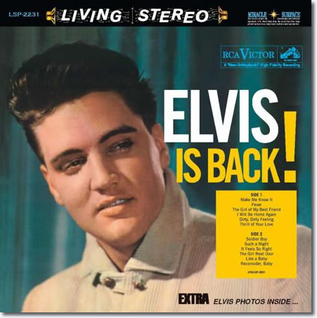 Elvis Presley - Elvis Is Back! (2 LP, 180 g, 45 rpm)