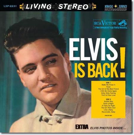 Elvis Presley - Elvis Is Back! (2 LP, 180 g, 45 rpm)