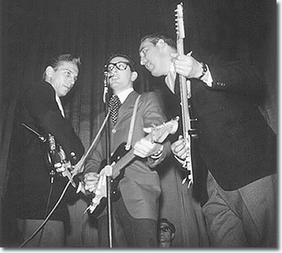 Waylon Jennings, Buddy Holly and Tommy Allsup - Jan 31, 1959