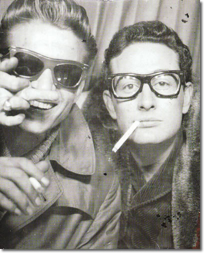 Waylon Jennings and Buddy Holly