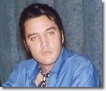 Elvis at the '68 Comeback Special Press Conference, June 25, 1968.