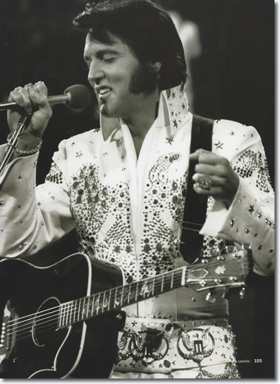 Elvis Presley : Aloha From Hawaii Rehearsal Concert : January 12, 1973. From the Boxcar /JAT book, Aloha Via Satellite [Page 105].