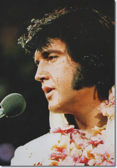 Elvis Presley : Aloha From Hawaii Rehearsal Concert : January 12, 1973. From the Boxcar /JAT book, Aloha Via Satellite [Page 129].