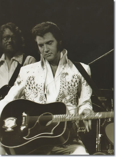 Elvis Presley : Aloha From Hawaii Concert : January 14, 1973. From the Boxcar book, Aloha Via Satellite [Page 274].