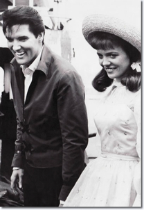 Elvis Presley and Annette Day.