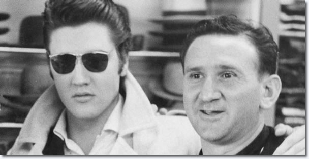 Elvis Presley and Bernard Lansky.