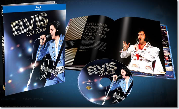 Elvis On Tour Blu-ray book