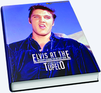 'Elvis At The Mississippi-Alabama Fair and Dairy Show Tupelo' Hardcover Book.