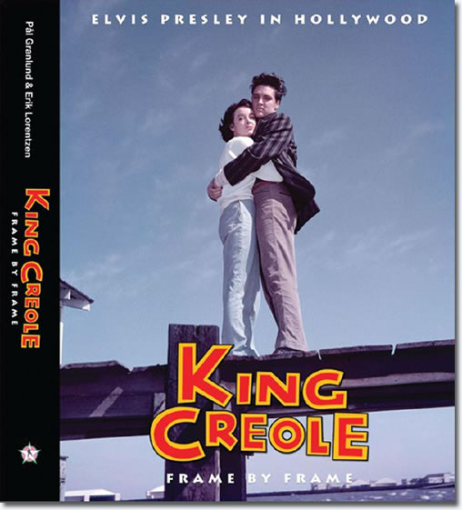 King Creole : Frame By Frame : Deluxe 400 page Hardcover book.