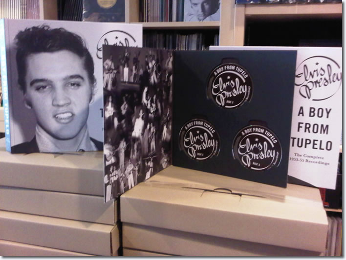 A Boy From Tupelo : The Complete 1953-55 Recordings : Book & 3 CD Set.