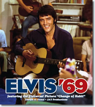 Elvis '69 Hardcover Book