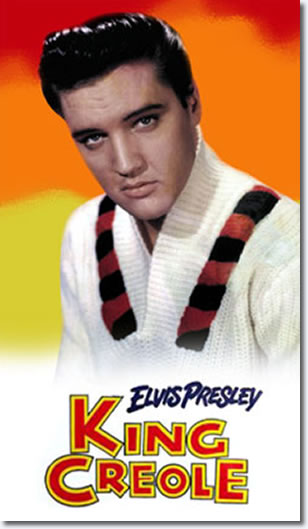 Elvis Presley : King Creole Hardcover Book
