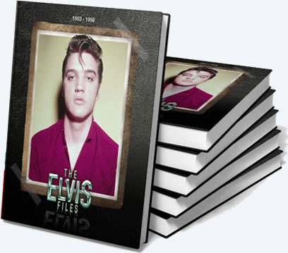 The Elvis Files Volume 1 : 1953-1956 : Deluxe Hardcover Book