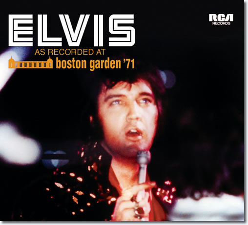 Elvis As Recorded At Boston Garden ''71 CD : Soundboard From FTD