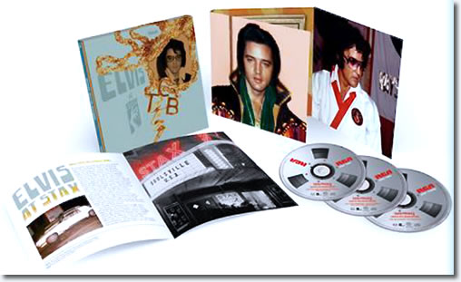 Elvis At Stax : Deluxe Edition 3-CD box set.
